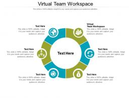 Virtual Team Workspace Ppt Powerpoint Presentation Slides Samples Cpb