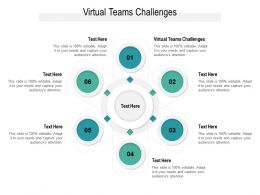 Virtual Teams Challenges Ppt Powerpoint Presentation Professional Graphics Design Cpb