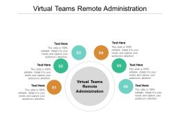Virtual Teams Remote Administration Ppt Powerpoint Presentation Professional Clipart Images Cpb