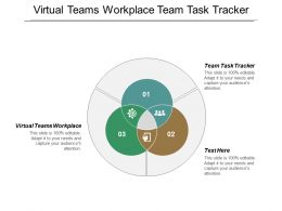 Virtual Teams Workplace Team Task Tracker Commercial Effectiveness Strategy Cpb