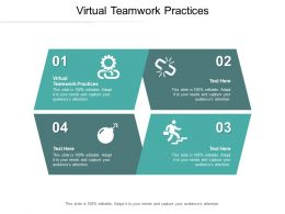 Virtual Teamwork Practices Ppt Powerpoint Presentation Styles Example Introduction Cpb