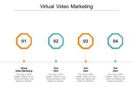 Virtual Video Marketing Ppt Powerpoint Presentation Infographic Template Deck Cpb