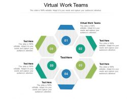 Virtual Work Teams Ppt Powerpoint Presentation Gallery Introduction Cpb