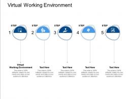 Virtual Working Environment Ppt Powerpoint Presentation Icon Information Cpb