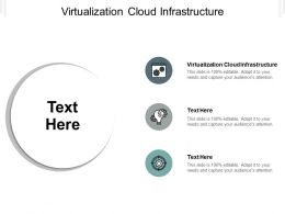 Virtualization Cloud Infrastructure Ppt Powerpoint Presentation Infographics Influencers Cpb