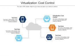 Virtualization Cost Control Ppt Powerpoint Presentation Portfolio Grid Show Cpb