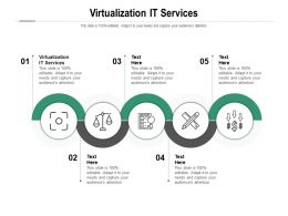 Virtualization IT Services Ppt Powerpoint Presentation Gallery Influencers Cpb