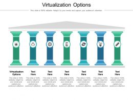 Virtualization Options Ppt Powerpoint Presentation Outline Brochure Cpb