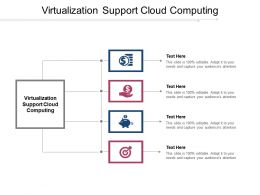 Virtualization Support Cloud Computing Ppt Powerpoint Presentation Model Ideas Cpb