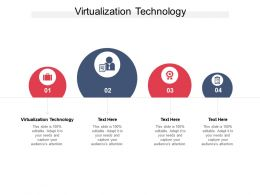 Virtualization Technology Ppt Powerpoint Presentation Icon Background Image Cpb