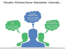 Virtualize Windows Server Standardize Automate Datacenter Deploy Applications