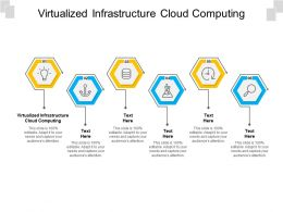 Virtualized Infrastructure Cloud Computing Ppt Powerpoint Presentation Pictures Topics Cpb