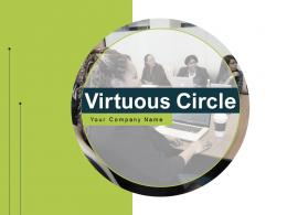Virtuous Circle Business Management Growth Analytics Measure Strategy Engagement Innovation