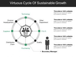 Virtuous Cycle Of Sustainable Growth