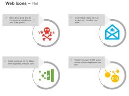 Virus Protection Email Communication Firewall Dos Ppt Icons Graphics
