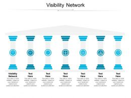 Visibility Network Ppt Powerpoint Presentation Pictures Clipart Images Cpb