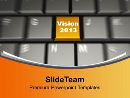 vision_2013_on_keyboard_computer_powerpoint_templates_ppt_backgrounds_for_slides_0113_Slide01