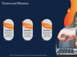 Vision And Mission Audiences Attention Ppt Powerpoint Presentation Design Ideas