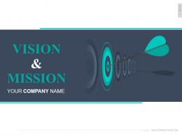 Vision And Mission PowerPoint Presentation With Slides