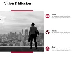 Vision And Mission Goal D237 Ppt Powerpoint Presentation Infographic Template Deck