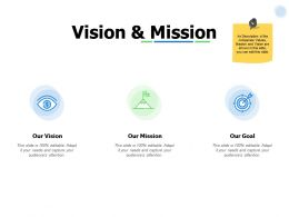 Vision And Mission Goal I256 Ppt Powerpoint Presentation Professional Clipart