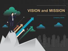 Vision And Mission Powerpoint Presentation Slides
