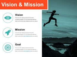 Vision And Mission Powerpoint Slide Rules Template 1
