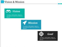 Vision And Mission Ppt Examples Professional