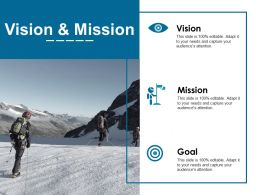 Vision And Mission Ppt Examples Slides