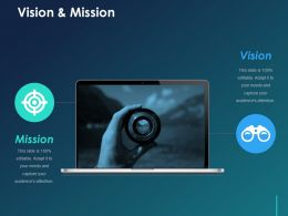 Vision And Mission Ppt Influencers