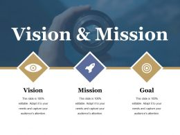 Vision And Mission Ppt Slide Design