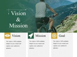 Vision And Mission Presentation Graphics