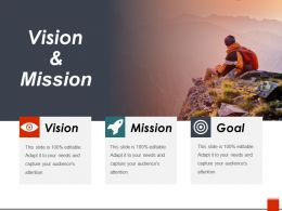 Vision And Mission Presentation Pictures