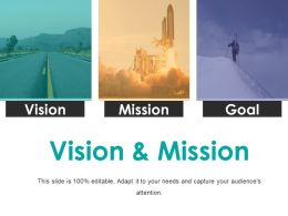 Vision And Mission Presentation Powerpoint Templates
