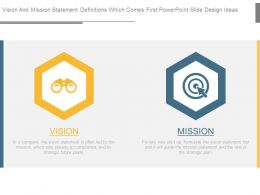 Vision And Mission Statement Definitions Which Comes First Powerpoint Slide Design Ideas