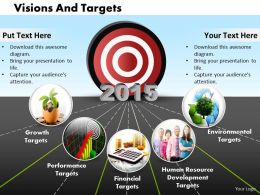 Vision And Target Diagram For 2015 0214
