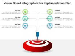 Vision Board For Implementation Plan Infographic Template