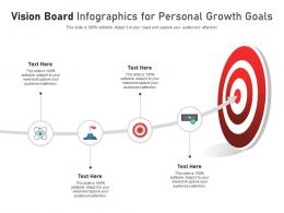 Vision Board For Personal Growth Goals Infographic Template
