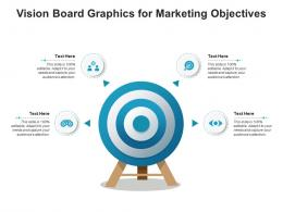 Vision Board Graphics For Marketing Objectives Infographic Template