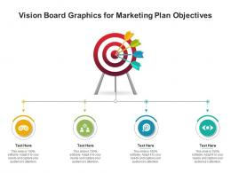 Vision Board Graphics For Marketing Plan Objectives Infographic Template