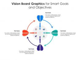 Vision Board Graphics For Smart Goals And Objectives Infographic Template