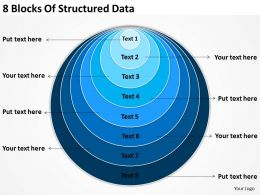 vision_business_process_diagram_8_blocks_of_structured_data_powerpoint_templates_Slide01