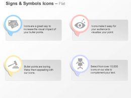 Vision Gavel Job Tag Ppt Icons Graphics