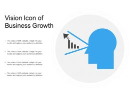 Vision Icon Of Business Growth