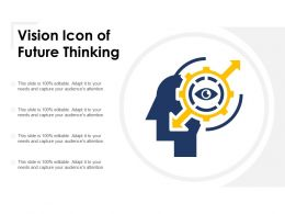 Vision Icon Of Future Thinking