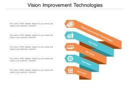 Vision Improvement Technologies Ppt Powerpoint Presentation Portfolio Structure Cpb