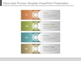 Vision Lead Process Template Powerpoint Presentation