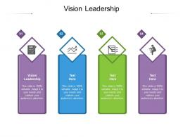Vision Leadership Ppt Powerpoint Presentation Icon Layout Ideas Cpb