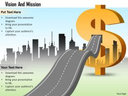 Vision Mission For Financial Growth 0214