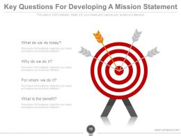 Vision Mission Goals And Objectives PowerPoint Presentation Slides
